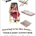 Growing to be Like Jesus Coloring Book